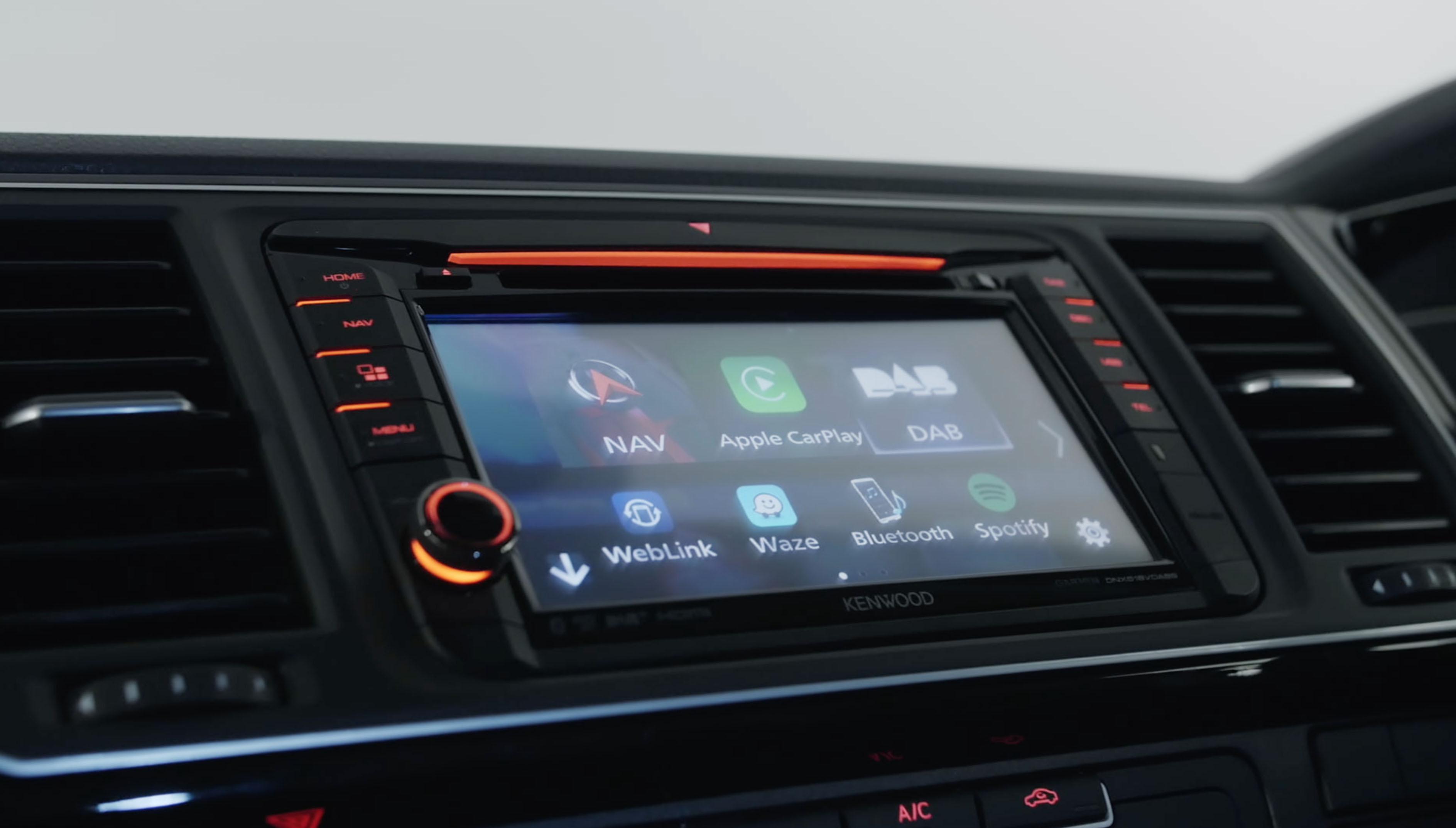 Volkswagen Commercial Vehicles • DNX518VDABS Features • KENWOOD UK