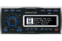 KMR-700U - Marine receiver with iPod docking station
