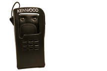 KLH-161PG - Leather Case for NEXEDGE NX-200/300 Non-Keypad Portables - with swivel belt loop