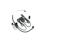 HMC-3 - Micro-casque avec commandes VOX et PTT pour une utilisation en mains-libres