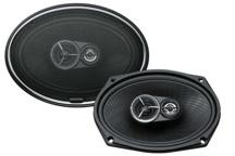 KFC-X693 - 6x9, 3-way High Performance Flush Mount Speaker System