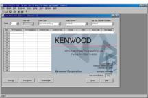 KPG-124D - Windows programming software for TK-7302E/M & TK-8302E/M