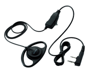 EMC-7 - Clip Microphone with D Earpiece and PTT