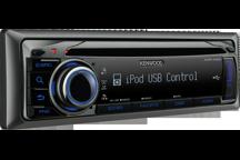 KMR-440U - Récepteur Marine MP3/WMA/AAC/CD/USB avec contrôle iPod
