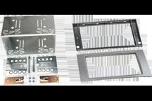 CAW-2114-15-S - Doppel-DIN-Einbausatz