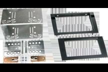 CAW-2320-15 - Doppel-DIN-Einbausatz