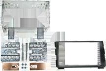 CAW-2178-26 - Doppel-DIN-Einbausatz