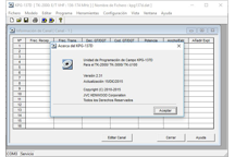 KPG-137D - Software de programación - Windows