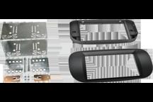 CAW-2094-22 - Doppel-DIN-Einbausatz