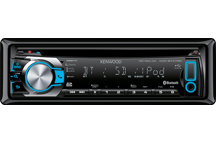 KDC-BT47SD - Sintolettore CD/USB/SD/iPod con Bluetooth integrato