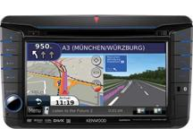 DNX521VBT - 7.0 Wide VGA, 2DIN multimedia receiver, Bluetooth & navigation built-in. Designed for VW, ŠKODA & SEAT cars