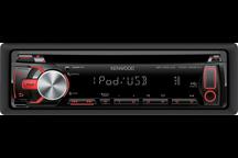 KDC-4057UR - USB-CD-Receiver mit iPod-Steuerung und roter Tastenbeleuchtung