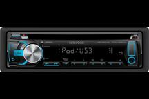 KDC-4557U - USB-CD-Receiver mit iPod-Steuerung und variabler Tastenbeleuchtung