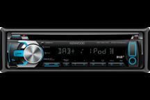 KDC-DAB43U - Digitalautoradio mit USB und iPod-Steuerung
