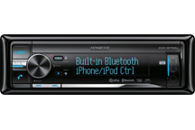 KDC-BT53U - CD/USB-Receiver with iPod Direct Control - Bluetooth Built-in