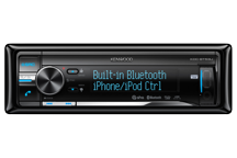 KDC-BT53U - CD/USB-Receiver met iPod Direct Control en geïntegreerde Bluetooth