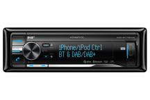 KDC-BT73DAB - CD/USB Receiver met DAB/DAB+ tuner en geïntegreerde Bluetooth