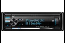 KDC-BT73DAB - CD/USB Receiver met DAB/DAB+ tuner en geïntegreerde Bluetooth