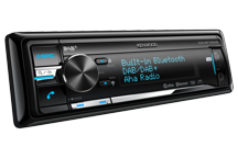 KDC-BT73DAB - CD/USB-Receiver with DAB/DAB+-Tuner & Bluetooth Built-in