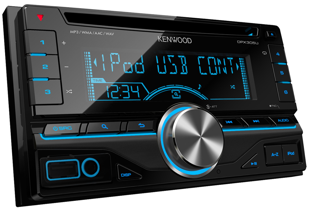 ipod iphone car stereo dpx305u features kenwood uk. Black Bedroom Furniture Sets. Home Design Ideas