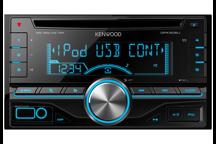 DPX305U - Doppel-DIN-Receiver mit USB-Anschluss und iPod-Steuerung