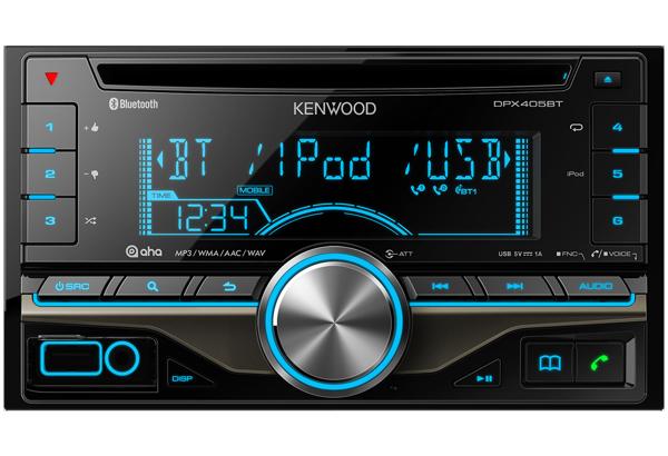 Bluetooth-Autoradios • DPX405BT Ausstattung • Kenwood Deutschland