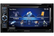 DDX4025BT - 15,5 cm Doppel-DIN-VGA-Monitor mit DVD-Spieler und Bluetooth-Freisprecheinrichtung