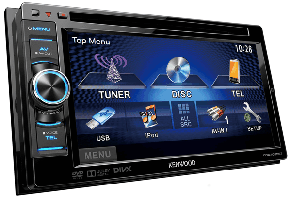 Kenwood Touchscreen Radio >> Moniceiver • DDX4025BT Ausstattung • Kenwood Deutschland