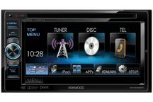 DDX5025BT - 15,5 cm Doppel-DIN-VGA-Monitor mit DVD-Spieler und Bluetooth-Freisprecheinrichtung