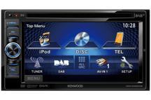 DDX4025DAB - 15,5 cm Doppel-DIN-VGA-Monitor mit DVD-Spieler, Bluetooth-Freisprecheinrichtung und DAB+ Tuner