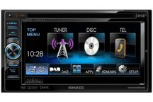 DDX5025DAB - 15,5 cm Doppel-DIN-VGA-Monitor mit DVD-Spieler, Bluetooth-Freisprecheinrichtung und DAB+ Tuner