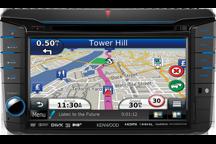 DNX525DAB - Sistema de navegación 7.0 WVGA con sintonizador DAB incorporado para VW, Skoda & Seat