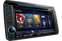 DNX525DAB - 7.0 WVGA, Navigační systém se zabudovaným DAB tunerem pro vozy VW, Škoda a Seat