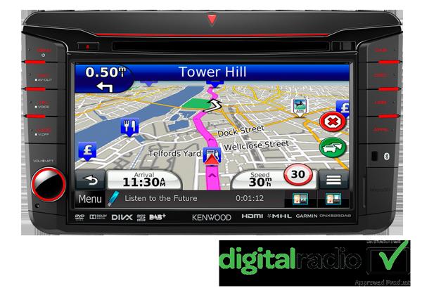Škoda • DNX525DAB Features • KENWOOD UK