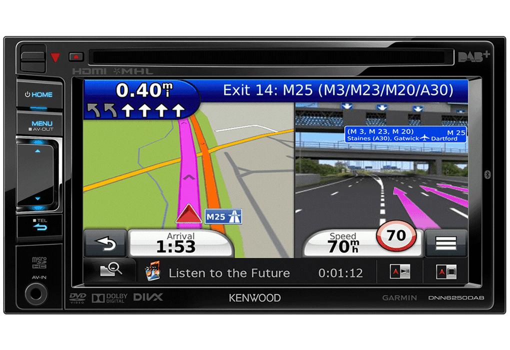 Navigatie Dnn6250dab Technische Specificaties Kenwood