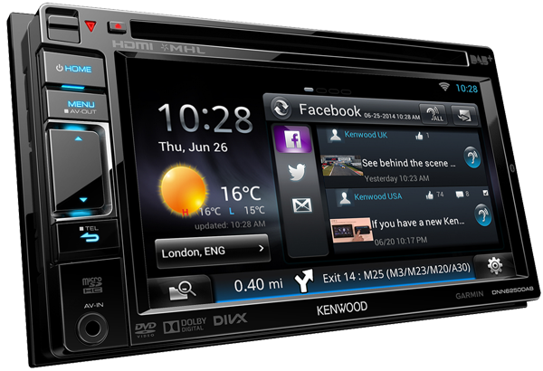 KENWOOD DNN9250DAB MULTIMEDIA RECEIVER BLUETOOTH DOWNLOAD DRIVER
