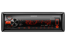 KDC-BT48DAB - Sinto CD con doppia USB, ipod iphone ready, Bluetooth e tuner DAB
