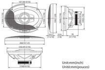 KFC-PS6985 - 6x9 4-smjerni Performance Standard sustav zvučnika