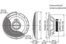 KFC-PS1795 - 17cm trosmjerni Performance Standard sustav zvučnika
