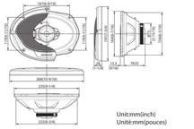 KFC-E6965 - 6 x 9 3-smjerni zvučnički sustav