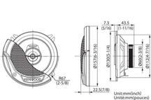 KFC-E1365 - 13cm dvosmjerni zvučnički sustav