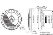 KFC-E1765 - 17cm dvosmjerni zvučnički sustav