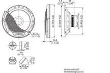 KFC-E170P - 17cm Komponentni sustav zvučnika