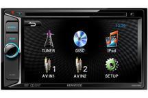 DDX155 - 6,2 wVGA, 4x40Вт, синяя подсветка, iPhone, 3 пары лин. вых. 2В, пульт дист. упр-я в комплекте