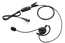 KHS-35F - Boom Microphone with D Earpiece and PTT