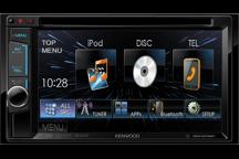DDX4015BT - 15,7 cm Doppel-DIN-VGA-Monitor mit DVD-Spieler und Bluetooth-Freisprecheinrichtung