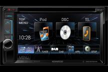 DDX4015DAB - 15,7 cm Doppel-DIN-VGA-Monitor mit DVD-Spieler, Bluetooth-Freisprecheinrichtung und DAB+ Tuner