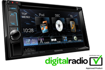DDX4015DAB - 6.2 WVGA DVD Receiver with Built-in DAB Tuner