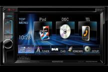 DDX5015DAB - 15,7 cm Doppel-DIN-VGA-Monitor mit DVD-Spieler, Bluetooth-Freisprecheinrichtung und DAB+ Tuner