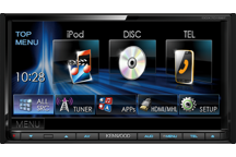 DDX7015BT - 7.0 WVGA DVD Receiver with Built-in Bluetooth